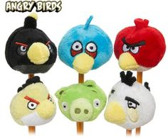 Plush Pencil Toppers