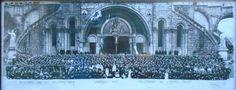 Bedevaart van het Belgisch leger naar Lourdes - 1955.