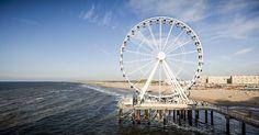 Het reuzenrad op de pier in Scheveningen gaat vrijdag officieel open.