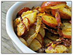 (a)Musing Foodie: Rustic Skillet Potatoes with Paprika