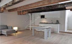 van loods tot loft / BYTR architecten , interior, studio, beams, wood