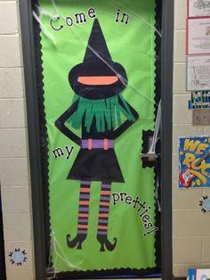 Halloween Classroom Door Decoration