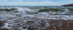 Blank Canvas – An Interview with Vernon Jones - Master Oil Painting Seascape Art, Blank Canvas, Large Painting, Life Drawing, Beach Art, Vernon, My Images, Coastal, Artist