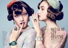 Yumi Lambert by Antonin Guidicci for Vogue Japan August 2013