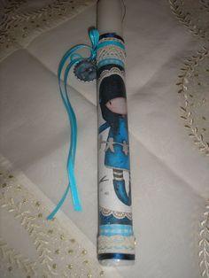 πασχαλινη λαμπαδα gorjuss Στελλα easter candle Stella