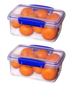 Another great find on #zulily! Klip It 33-Oz. Food Container - Set of Two by Sistema #zulilyfinds