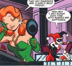 Poison Ivy& Harley Quinn♠♦♣