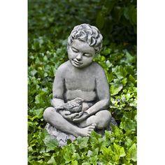 Campania International, Inc Nature's Gift Statue Color: Pietra Vecchia