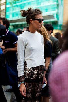 Aurora Sansone #style #fashion #streetstyle