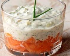 Verrines au saumon rapides (facile) - Une recette CuisineAZ