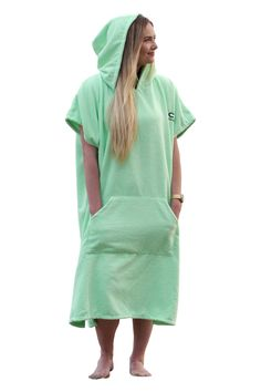 COR Surfing Changing Towel Robe With Hood and Front Pockets