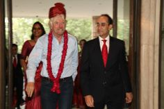 It was a privilege to have Richard Branson with us, at the Taj Mahal Hotel, New Delhi.