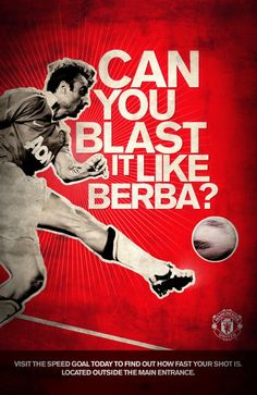 Manchester United - Speed Goal by Ben Topliss, via Behance