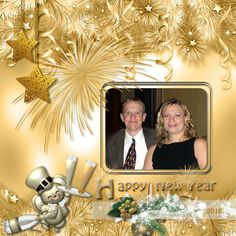 Layout by Tbear. Kit used: Funny New Year by Butterfly Dsigns http://scrapbird.com/designers-c-73/a-c-c-73_514/butterflydsign-c-73_514_568/funny-new-year-by-butterflydsign-p-17488.html