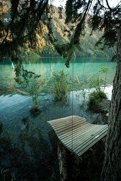 Cabin Hammock Water Swing