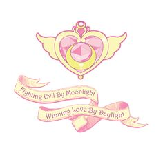 Sailor Moon - Fighting Evil by Moonlight, Winning Love by Daylight T- shirt