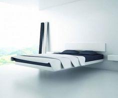Charming Fluttua Floating Bed Design