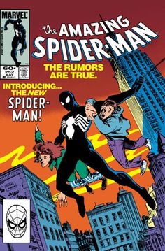 The debut of the black costume, Amazing Spider-Man #252