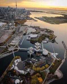 Sunrise over Ontario Place with Toronto Ontario Canada, Toronto City, Toronto Skyline, Monte Carlo, Vancouver, Ontario Place, Tokyo, Oakville Ontario, Ontario Travel