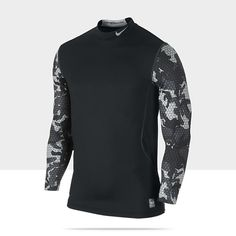 Nike Pro Combat Hyperwarm Dri-FIT Max Fitted Men's Shirt