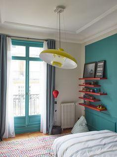 Chambre d'enfant- Appartement Parisien de 320m2- GCG Architectes