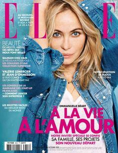 Elle France 23rd October 2015: Emmanuelle Beart By Jan Welters