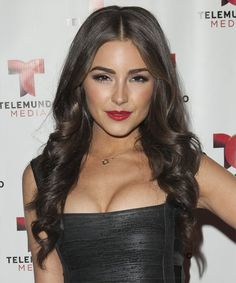 Olivia Culpo - Formal Long Wavy Hairstyle. Click on the image to try on this hairstyle and view styling steps!