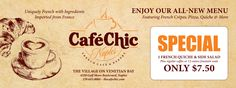 Newspaper Advertisement #amygraudesign #cafe