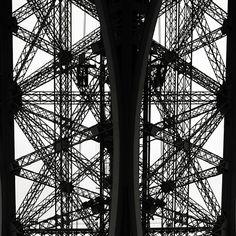 Josef Hoflehner Photographer | Paris, France La Tour Eiffel, Study 4 - Paris, France, 2006