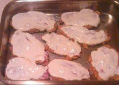 Hagymás bundában sült csirkemell recept Bacon, Curry, Paleo, Food And Drink, Diet, Chicken, Recipes, Curries, Beach Wrap