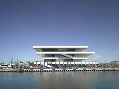 Credit: Christian Richter Not everything Chipperfield does is classical or calm: this is the dynamic America's Cup building 'Veles e Vents' ...