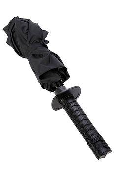 The Mini Samurai Umbrella by Kikkerland