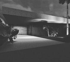 "Triplice 3D on Instagram: ""#architecture #arquitetura #arquitectura #traballho #casas #house #studentarquitecture #inpiration #iluminacion #iluminacao #noturna…"""