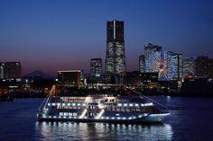 マリーンシャトル みなとみらい クルージング 海 船 横浜 山下公園 元町中華街 観光 ブッフェ ランチ ディナー