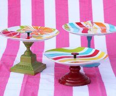 DIY GIANT CUPCKE WRAPPER | 10 Creative DIY Cupcake Stands - The Girl Creative