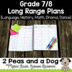 Free: This resource contains long range plans for teaching Language Arts, Math, History, Drama and Dance. The plans are based on the Ontario Grade 7 and 8 Curriculum. Provides a general monthly overview for each subject. Plans can be used by either split or straight grade teachers.