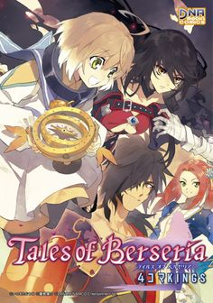 Tales of Berseria - Velvet, Laphicet, and Rokurou ... Oh and Eleanor as well I suppose.