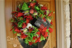 Merry Christmas hand painted sign on this by DodiesDetails on Etsy