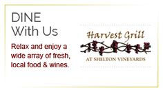Dine at the Harvest Grill! Harvest Grill, Wine Recipes, Wines, Vineyard, Grilling, Vine Yard, Crickets, Vineyard Vines