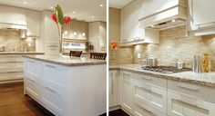 transitional cabinets with horizontal pulls