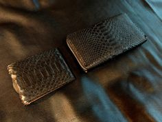 SONG'S LAW Wallet. Real Python Wallet. Black