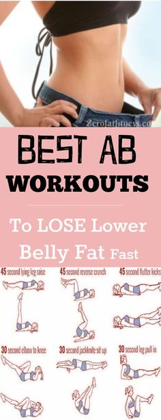 Fitness Best Ab Workouts to Lose Lower Belly Fat Fast at Home in 1 Week.Find here how to get rid of lower belly fat and get flat stomach fast. Included here are the causes of lower belly fat, diet, and workouts that target your lower body core Flat Belly Workout, Best Ab Workout, Ab Workout At Home, At Home Workouts, Lower Tummy Workout, 1 Week Workout, Workout Abs, Lower Ab Workout For Women, Week Of Workouts