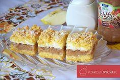 Jak ja uwielbiam szarlotki i wszelkiego rodzaju ciasta z jabłkami! Najwięcej ich przygotowuję w jesieni, kiedy mamy jabłek pod dostatkiem. Pudding Cake, Polish Recipes, Apple Cake, Fabulous Foods, Cake Cookies, Cupcakes, Vanilla Cake, Food And Drink, Cooking Recipes