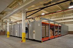 Secure Military Storage On Industrial Racking At Fort Carson
