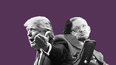 """Stephen Hawking llama """"demagogo"""" al candidato republicano Donald Trump"""