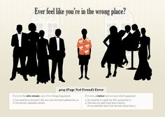 Ever feel like you're in the wrong place? Error 404 page