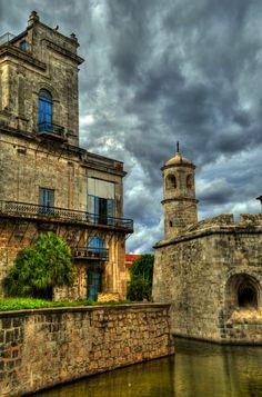 The old Havana. Cuba.