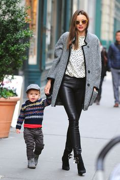 Miranda Kerr & Flynn Bloom's Best Street Style Moments - HarpersBAZAAR.com