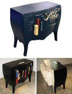 This push and store cabinet feels VERYHarry Potter.    Designed by Chung-Tang Ho.    (via thedailywhat)