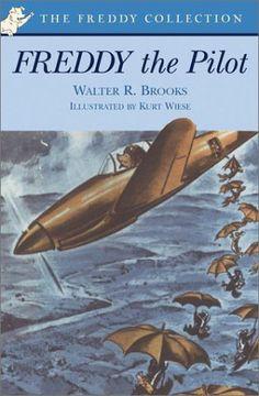 Freddy the Pilot by Walter R. Brooks http://www.amazon.com/dp/0142300446/ref=cm_sw_r_pi_dp_jgFdub03MS5A6